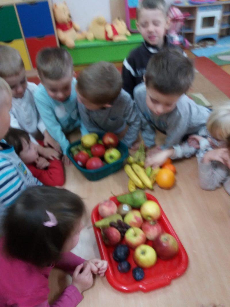 Gr.2. Poznajemy owoce.