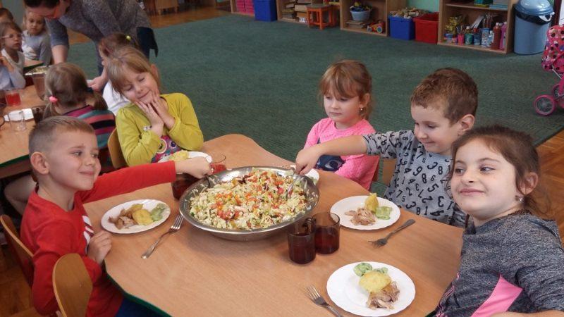 Surówka obiadowa z warzyw