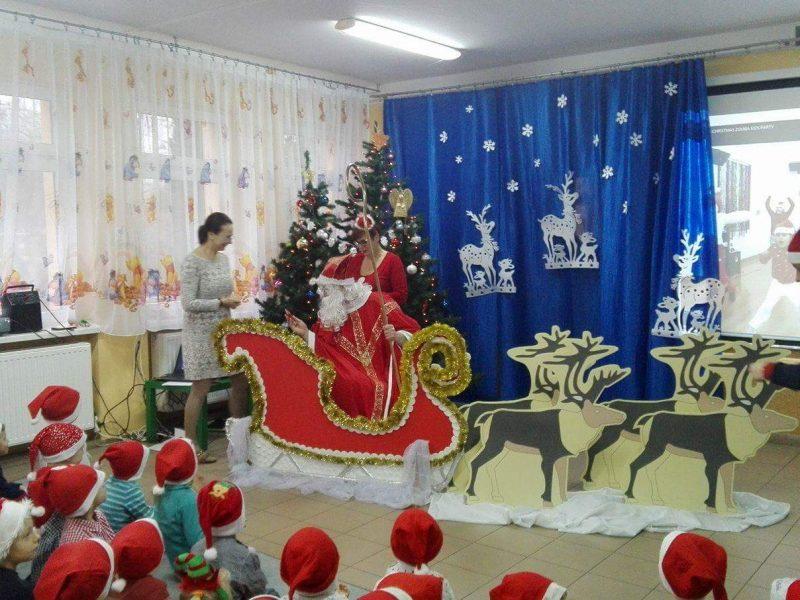 6.12.2017r  Wizyta św. Mikołaja