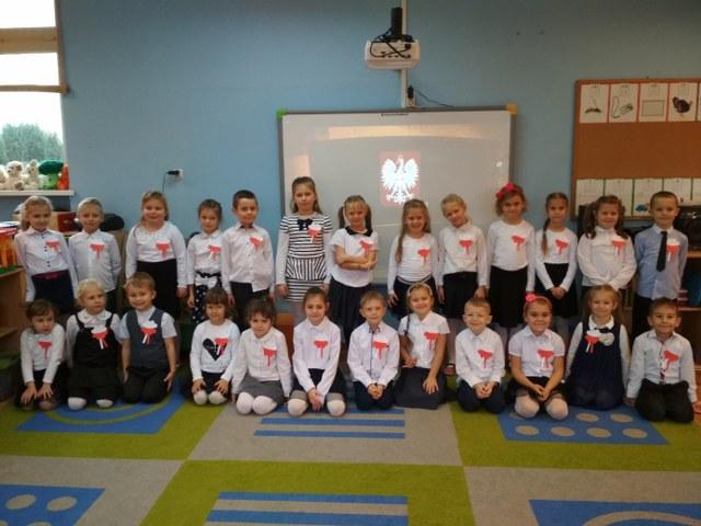 9.11.2018 r. – Obchody Święta Niepodległości w przedszkolu