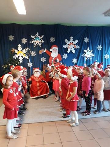 6.12.2018 r. – Wizyta św.Mikołaja