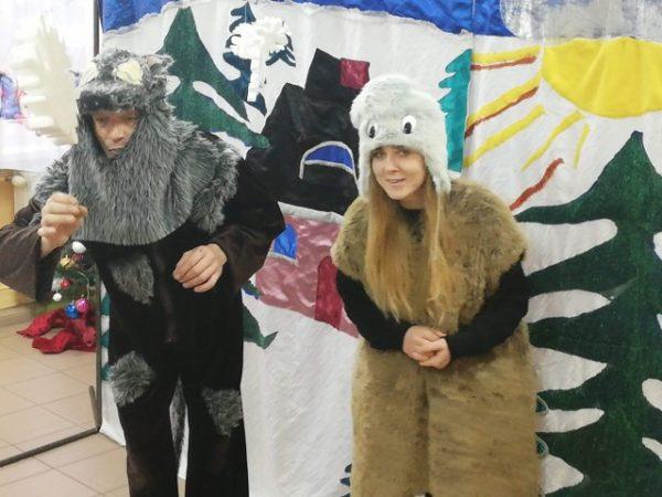 """10.01.2019 r.  Teatrzyk """"O Januszku, który szukał przyjaciół"""""""