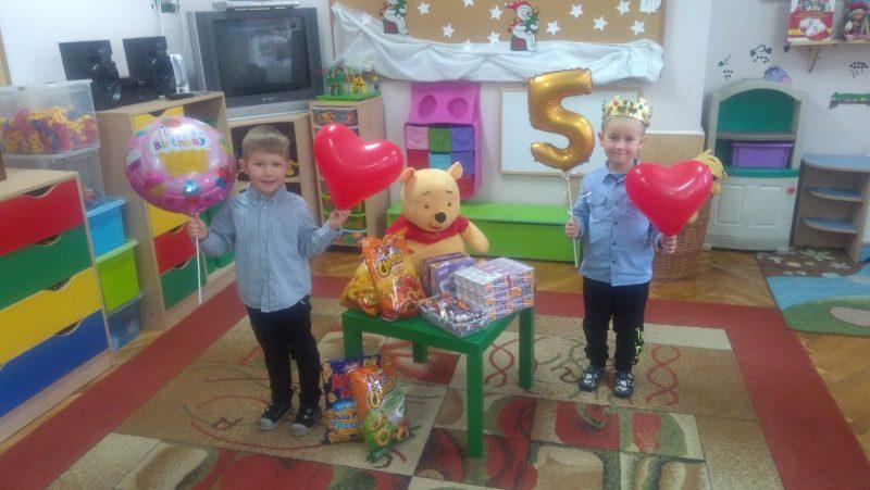 Urodziny Dawidka i Fabianka