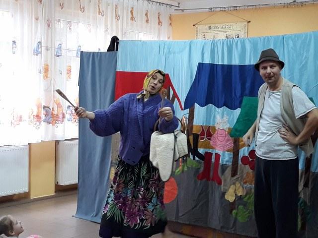 """7.03.2019 r. – Teatrzyk """"Jaś i fasola"""""""