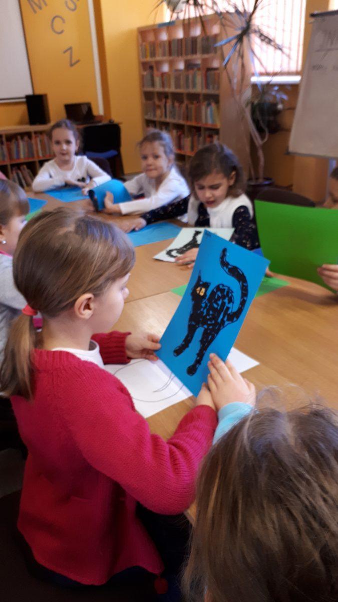 Światowy Dzień Kota – zajęcia w bibliotece