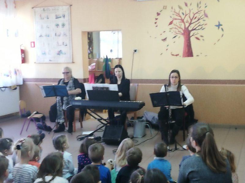 Koncert w przedszkolu