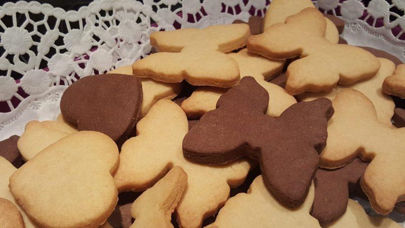 Króliczki upiekły ciasteczka dla Babci i Dziadka :)