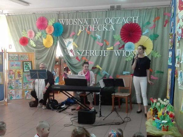 """10.06.2019 r. – Koncert muzyczny """"Pięcioliniowe psotki"""""""
