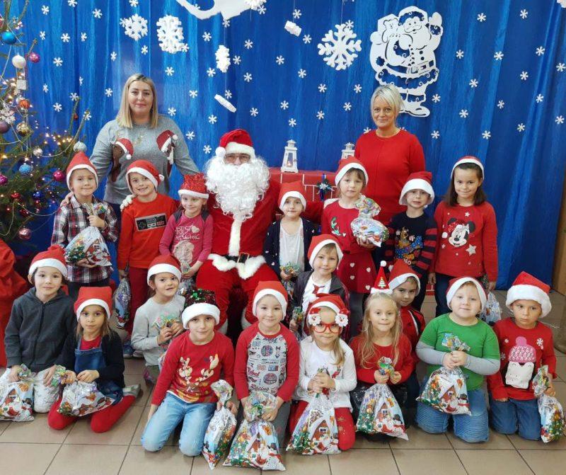 6.12.2019  Święty Mikołaj w przedszkolu