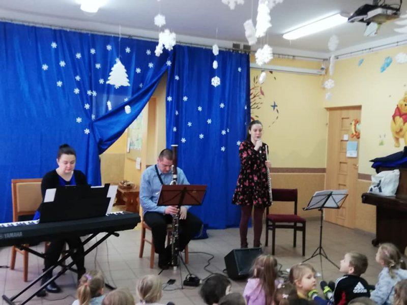 Koncert muzyczny w przedszkolu. 24.02.2020