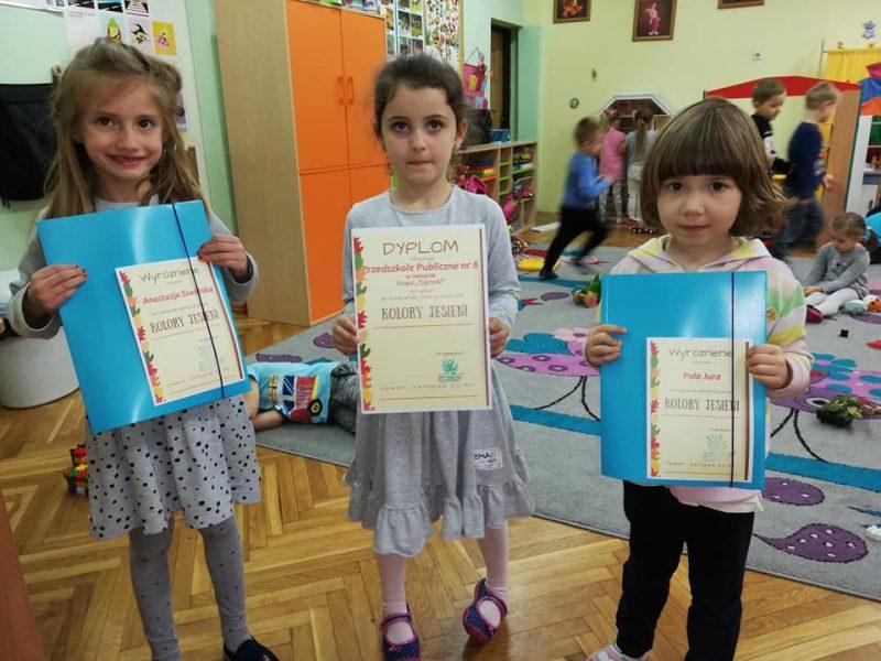 Konkurs  plastyczny  organizowany  przez  klub  Piast Kolory jesieni 2019