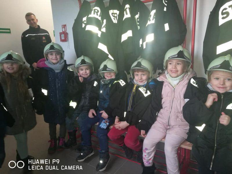 Z wizytą  u  strażaków.