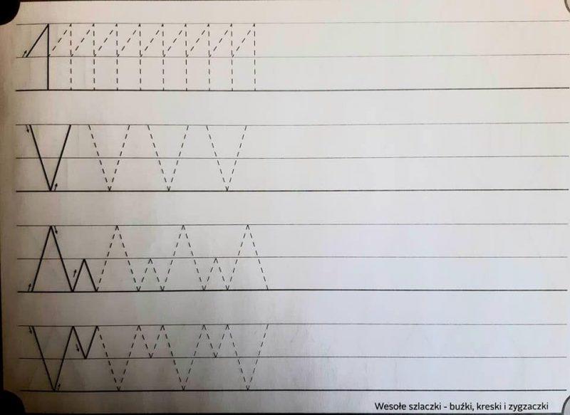 3.04.2020r. – Ćwicznia grafomotoryczne – fb relacje