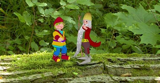 """Temat na dziś: Las. """"Kłótliwe drzewa"""""""