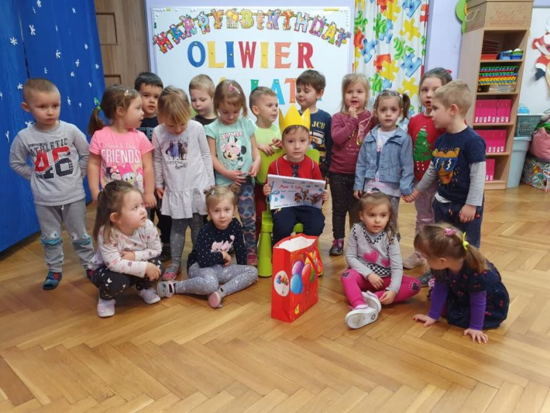 Urodziny Oliwiera – 5.01.2021r.