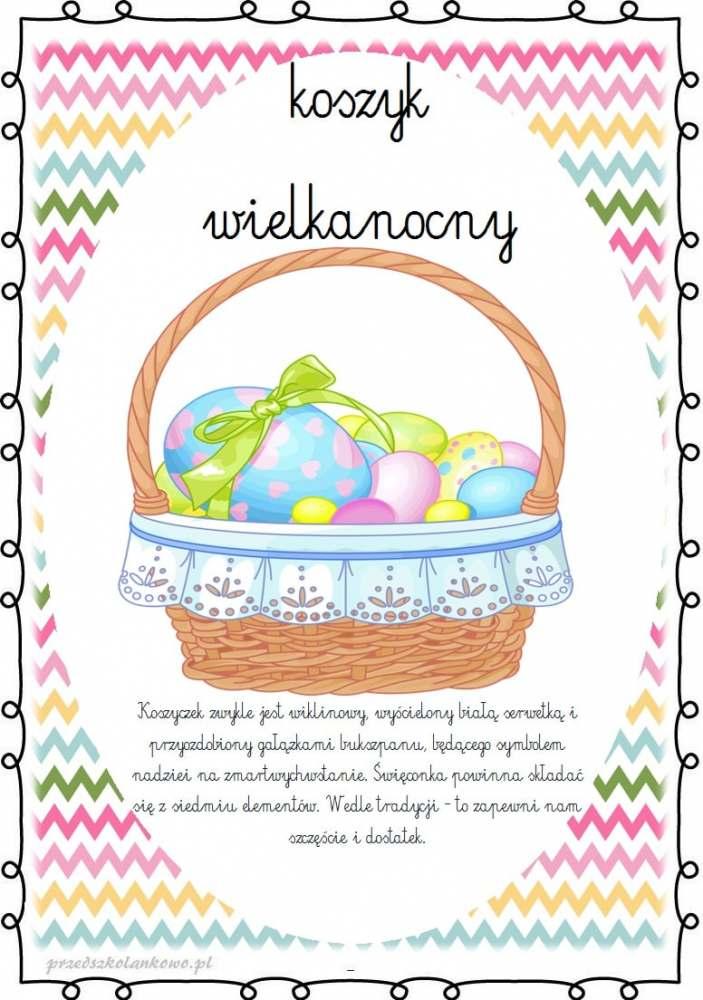 Wielkanocny koszyczek – 24.03.2021r. – fb