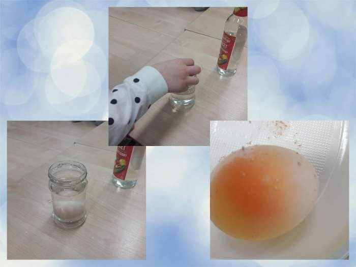 Eksperyment z jajkiem – 31.03.2021r. – fb